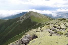 Малая Сивуля - Горганы. Вид с Большой Сивули